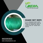 Leading shade net rope manufacturer